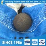 Durchmesser-20mm geschmiedete reibende Stahlkugel für kupfernen Bergbau