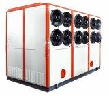 охлаждая подгонянный емкостью интегрированный промышленный испарительный охлаженный охладитель воды 190kw для машины инжекционного метода литья