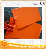 calentador de agua del caucho de silicón de 200c 110V 120*200*1.5m m