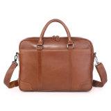 Конструктор Mens Brown цены Factotry кладет кожаный портфель в мешки компьтер-книжки