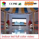 P4 Indoor RGB Full Color LED Tamanho da parede de vídeo 512X512mm LED Display de tela grande Sistema de sincronização de fundo