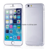 iPhone 6s Cell Phone Cover를 위한 도매 Transparent Ultra 0.3mm Logo Printed TPU Case