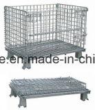 El alambre de acero de malla de paletas de jaulas para Depósito de almacenamiento