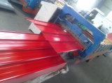 Il colore ha ricoperto il materiale di tetto d'acciaio galvanizzato l'acciaio del tetto di Ibr 0.16mm-1.2mm