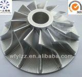 Roda do compressor da peça de Turbo com a liga C355 de alumínio material