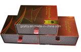 Caja de embalaje del oro del papel de Shinely del papel de gama alta del perfume