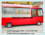 2016 Electric Hot Dog Mobile Food Bus pour la cuisine