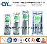 Cilindro criogénico médico del Dewar del aislamiento del argón del nitrógeno del oxígeno líquido del GASERO