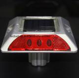 Borne en aluminium de trottoir de réflecteurs solaires de sécurité routière
