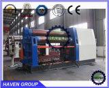 TW12NC-20X3000ロール・ベンディング機械、4ローラーのタイプ良い業績の製造業者の油圧版の圧延機