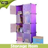 8 مكعبات قابل للتعديل التخزين البلاستيكية صندوق خزانة مجلس الوزراء