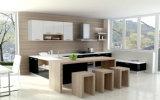 Gabinete de cozinha laminado melamina da placa de partícula (zg-008)