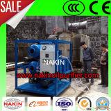 Macchina portatile in linea di depurazione di olio del trasformatore di vuoto, stabilimento di trasformazione dell'olio