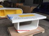 새로운 물자 판매 백색 회의 테이블을%s 긴 회의장 5개 피트