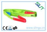 Ce di sollevamento infinito GS di Sln dell'imbracatura della tessitura della fibra di 1-10t Synthectic