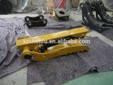 Trabajo manual del gancho agarrador del pulgar con el pulgar mecánico del compartimiento del excavador