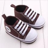 暖かい赤ん坊のパンダの表面幼児の靴
