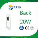 Piccolo comitato solare monocristallino di potere 20W/policristallino personalizzato fotovoltaico