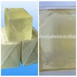 Pegamento caliente del derretimiento para la cinta echada a un lado doble del tejido