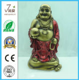 Buda de resina, Polyresin Antique Ring Maitreya Buddha