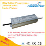 120W Outdoor Programmable Constant Current/Constant Voltage LED Power Supply