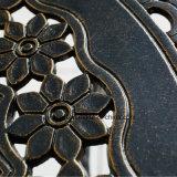 現代デザイン屋外の家具の鋳造アルミの網の円形のコーヒーテーブル
