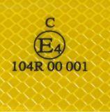 Bande ECE104 r3fléchissante claire d'animal familier pour des couleurs blanches jaunes rouges de véhicules