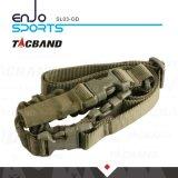 Tacband SL03 Hochleistungs Punkt-taktischer Federelement-Riemen-olivgrünes graubraunes
