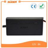 Cargador de batería rápido elegante del cargador de batería de Suoer 8A (SON-1208)
