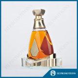 De Basis van de Vertoning van de Fles van de Alcoholische drank van Crystal&Steel (hj-DWNL02)