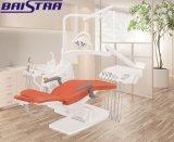 Cadeira dental luxuosa portátil da qualidade superior com luz da operação do diodo emissor de luz