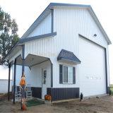 Vor-Ausgeführtes Baustahl-Gebäude für die industriellen und Wohnanwendungen