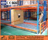 Decking de fil galvanisé par mémoire d'entrepôt pour le défilement ligne par ligne de palette