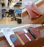 Кожаный бумажник документа пасспорта PU 2015 (FS6991)