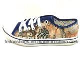美しいデザイン女性の注入は蹄鉄を打つ偶然靴の歩きやすい靴(FFDL0112-01)に