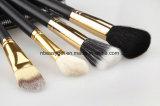 Комплект щетки глаза состава - набор залома Eyeliner Eyeshadow смешивая - самые лучшие щетки состава выбора 12 необходимые - карандаш, сплющенное Shader, Definer - последнее длиннее