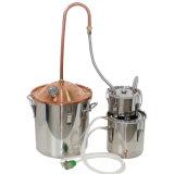 10L/3gal de Distillatie van de Alcohol van de Distilleertoestellen van de Maneschijn van de Distillateur van het Deksel van het Koper van het Gebruik van het huis