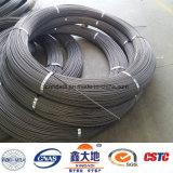 alambre de acero de pretensión de alta resistencia del alto carbón de 4.8m m