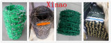 Пластичная Coated Гальванизированная-Xinao колючая проволока загородки земледелия