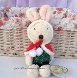 Игрушка кролика плюша рождества