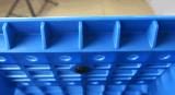 EU 창고 제품 (ZG-1210)를 위한 표준 깔판 1200*1000*150mm 격자 두 배 갑판 HDPE 플라스틱 깔판