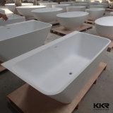 Vasca da bagno indipendente di pietra artificiale della vasca da bagno indipendente per l'hotel