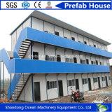 Casa modular personalizada do recipiente da casa da casa pré-fabricada clara do aço do painel de parede de aço do material de construção e do sanduíche