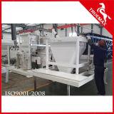 고품질 생산 능력 벨트 유형 정지되는 구체적인 플랜트 60m3