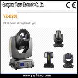 Fascio di illuminazione 280W della fase & indicatore luminoso capo mobile del punto