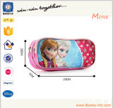 Kundenspezifisches China Cartoon 3D Custom Color oder Size Pink Pencil Bag