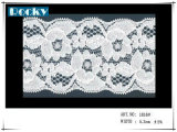 Guarnizione del merletto del poliestere degli accessori della tessile per il reggiseno