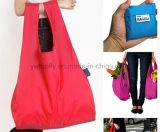 China-Lieferanten-fördernder faltender Einkaufstasche-Nylonbeutel-Geschenk-Beutel