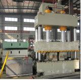 La fábrica dirige la prensa hidráulica de cuatro columnas