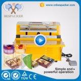 Tipo máquina do carrinho de empacotamento vegetal externa do vácuo